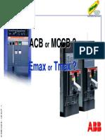 ACB vs MCCB