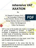 Comprehensive VAT TAXATION(3!31!14)