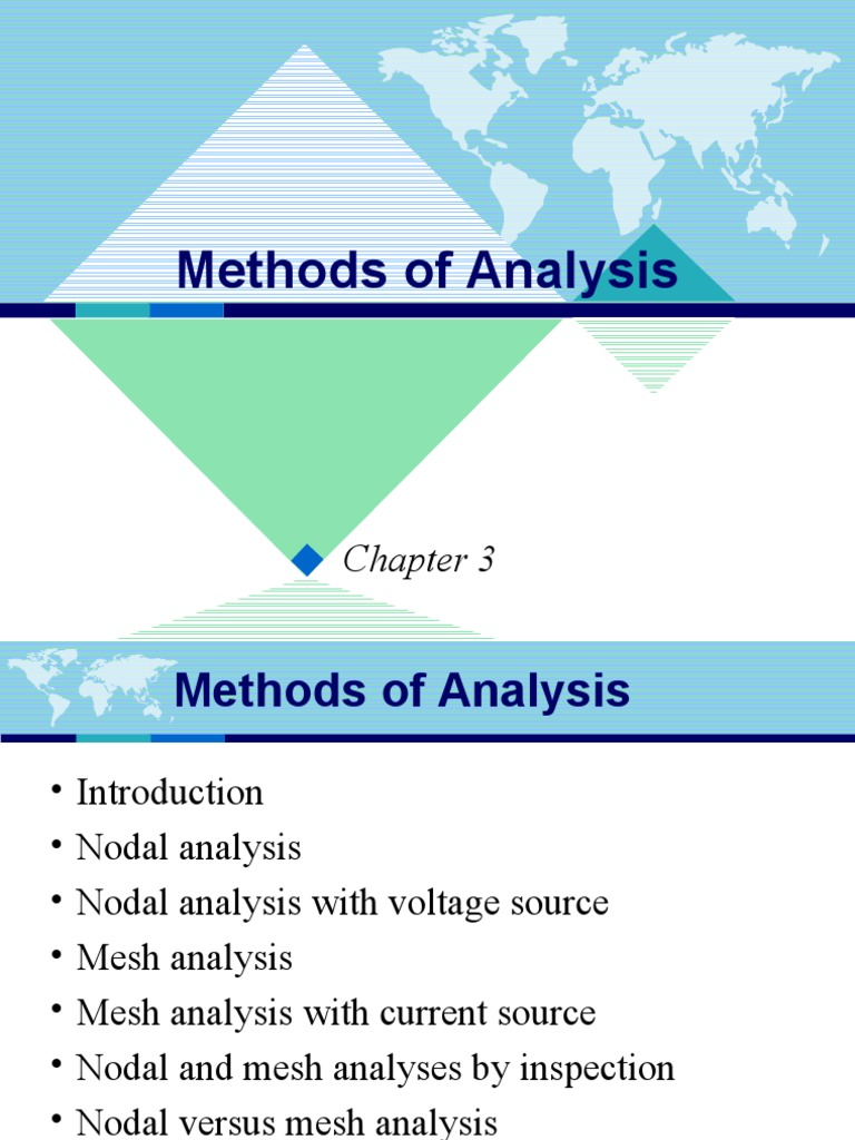 Chap3 Methods Of Analysis Electrical Network Visual Cortex Circuit Example Nodal