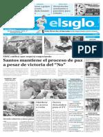 Edicion Impresa El Siglo 03-10-2016