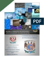 Sistema Alternativo de Captacion y Aprovechamiento de Agua de Lluvia