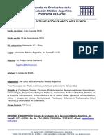 8to. Curso de Oncologia Clinica