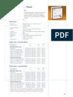 Analogue Instruments Rev 04-10(Wattmeters and VArmeters)