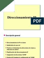 5.- Direccionamiento IP