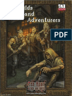 Guilds and Adventurers
