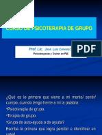 Curso Psicoterapia Grupo i