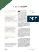 Aznar, En Defensa de La Política