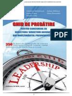 Ghid de Pregatire Pentru Concursul de Directori