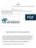 Data Warehouse Interview Questions and Answers for 2015 _ Data Modeling Ques