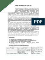 Identificación de Agua y Sales Minerales