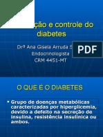 Prevenção e Controle Do Diabetes
