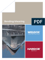 Weldox prefabrication