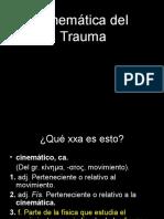Cinematica Del Trauma