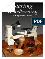 Starting Woodturning a Beginners Guide