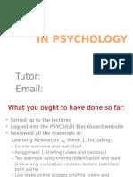 Assignment 1 Primer - Week 2 Tutorial Activity_2016 HANDOUT VERSION