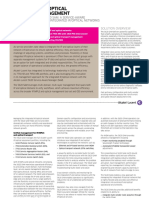 Converged IP Optical Network Management SolutionSheet