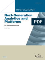 AST-0147177 Best Practices Report Next-Generation Analytics and Platforms