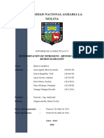 5. Determinación de Nitrógeno Orgánico-Kjeldahl
