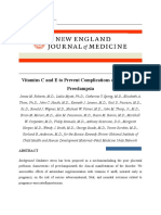 Vitamin C and E to Prevent Complication of Pregnancy Associated Hypertension