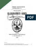 Franz Von Baader - Les Enseignements Secrets de Martinès Pasqually