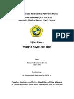 Ujian Kasus Mata - Miopia Simpleks