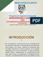 Contaminantes Dispersos en El Rio Chili