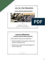 Lecture 2a Eleap Size Reduction