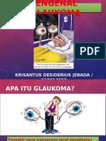 KRISANTUS - GLAUKOMA