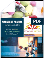 Marksans Pharma - Dynamic