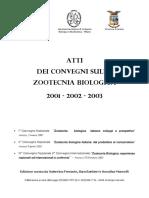 Convegni 2001, 2002, 2003
