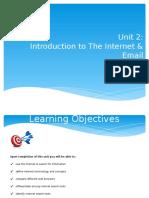 Unit 2 - Internet  Email.pptx