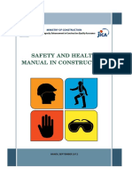 Safety and Health Manual in Construction