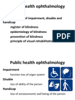 Public Health Ophthalmology