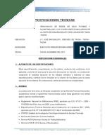 Especif Tecnicas Agua - Bacigalupo