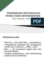PENGANTAR METODOLOGI