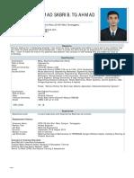 Resume Tengku Muhd Sabri Tg Ahmad