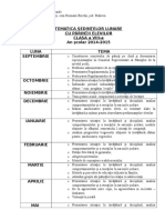 Tematica Sedintelor Cu Parintii Clasa a VIII-A
