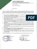 Contoh Surat Pernyataan Narapidana Untuk Usul Pb, Cb, Cmb Dan Asimilasi