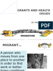 New Migrants and Health Issues(1)