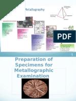 Metallography New