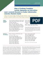 2012 Cath Lab Consensus Document