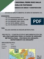 Relleno Sanitario de Arequipa - Entrega 02