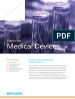 Epicor ERP Medical Devices Industry Overview