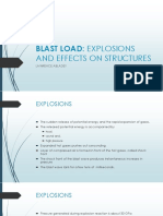 Blast Load Effects on Structures