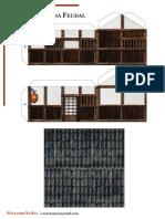 Torii Casa Feudal Japonesa Modelo 1