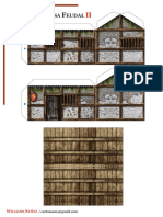 Torii Casa Feudal Japonesa Modelo 2