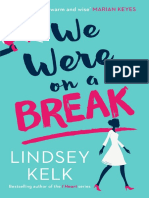 We Were On A Break by Lindsey Kelk - extract