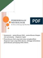 Pemeriksaan Neurologik