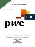 PwC Case Study