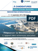 Appel à Candidature - Atelier Doctoral (1)